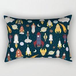 Rockets Rectangular Pillow