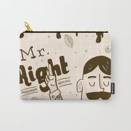 Mr Right Carry-All Pouch