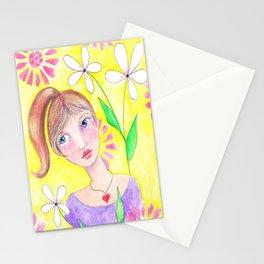 Blue Eyed Beauty Stationery Cards