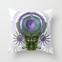 fullmetal alchemist Throw Pillows featuring Alchemist by Giohorus