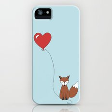 foxy fox balloon iPhone SE Slim Case