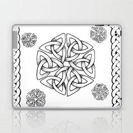 Celtic Knot Snowflake Laptop & iPad Skin