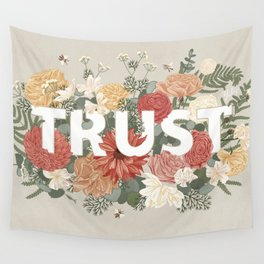 Trust Wall Tapestry