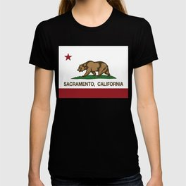 Sacramento California Republic Flag T-shirt