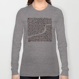 mapping home Long Sleeve T-shirt