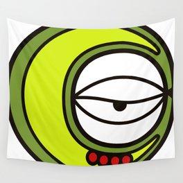 Moon Goddess with Coffee Leaf Eye-lash [Spa Ixchel] Wall Tapestry