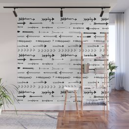 Follow  your own path arrows Wall Mural