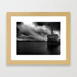 Before the Hurricane Framed Art Print