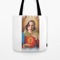 scully Tote Bags featuring Dana Scully by Michelle Wenz