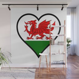 Love Wales Wall Mural