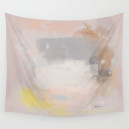 Neutral city in a grey autumn Wall Tapestry