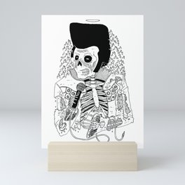 Dead Famous - Elvis Mini Art Print