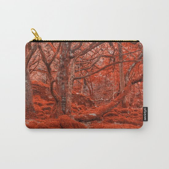 Ruby Moss Forest Carry-All Pouch