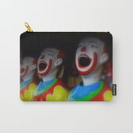Laughing Clowns Carry-All Pouch