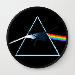 Dark Side Moon Pix-elated Wall Clock