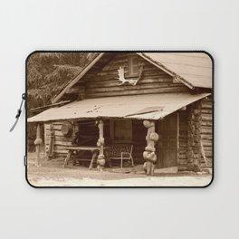 Old Log Cabin Laptop Sleeve