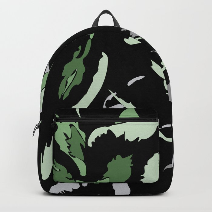 FLORAL ABSTRACTION Backpack
