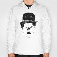 charlie chaplin Hoodies featuring Charlie Chaplin by creaziz