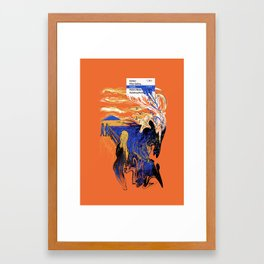 The Liquify Framed Art Print