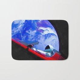 Tesla's Starman Bath Mat