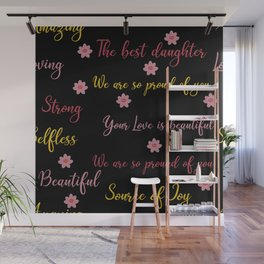 For my daughter - Love Wall Mural