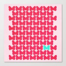 One of a kind (pink) Canvas Print