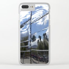 COOL CLASSIC VINTAGE AIRSTREAM Clear iPhone Case