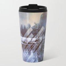 Winter Sun Rays Abstract Nature Travel Mug