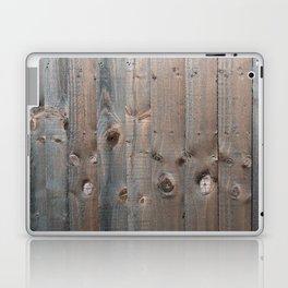 Brown Wooden Fence Laptop & iPad Skin