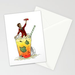 Micea Mell makes an entrance Stationery Cards