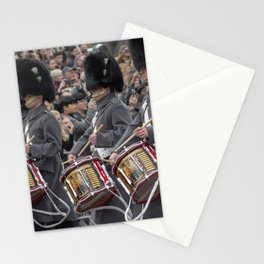 Snare Drums Marching during the Changing of the Guard in front of Buckingham Palace London England Stationery Cards