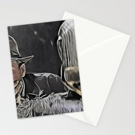 Indiana Jones Surprised Mistery Damned Hidden Treasure Action Stationery Cards