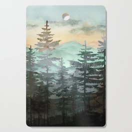 Pine Trees Cutting Board