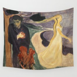 Separation by Edvard Munch Wall Tapestry