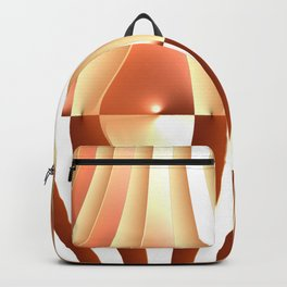 Bending the Bars of Rules - Pure Fractal Abstract Backpack