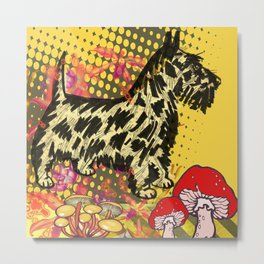 Scottish pop art Metal Print