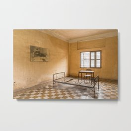 S21 Building B Cell I - Khmer Rouge, Cambodia Metal Print
