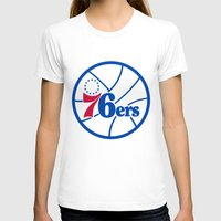 nba T-shirts featuring NBA - 76ers by Katieb1013