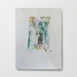 Throughthe woods 3 Metal Print