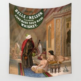 Belle of Nelson Old Fashion Hand Made Sour Mash Whiskey Wall Tapestry