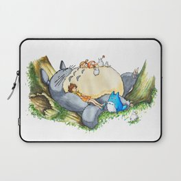 Ghibli forest illustration Laptop Sleeve