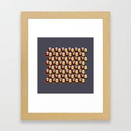 Wanna make orange? Framed Art Print