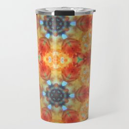 Orange Blossom and Blue Jeans Travel Mug