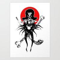 The Pirate Dog Art Print