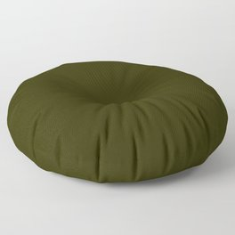 Army color Floor Pillow