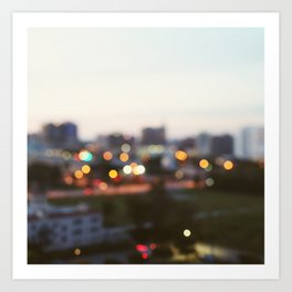 Gulf Coast Evening Art Print