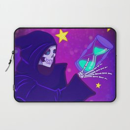 Grim Reaper Space and Time Laptop Sleeve