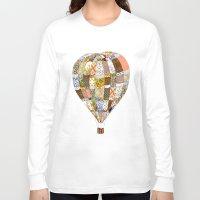 balloon Long Sleeve T-shirts featuring Balloon by Iotara