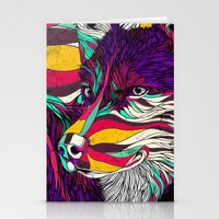 husky Stationery Cards featuring Color Husky (Feat. Bryan Gallardo) by Danny Ivan