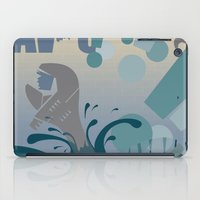 jaws iPad Cases featuring Jaws! by LivingIllustrations